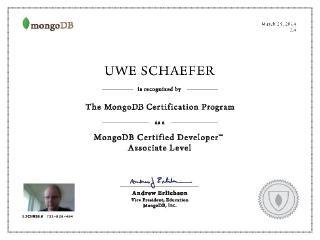 Certifications |
